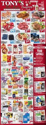 Tony's Finer Food catalogue ( Expired )