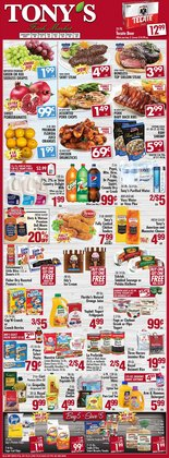 Grocery & Drug offers in the Tony's Finer Food catalogue in Joliet IL ( 3 days left )