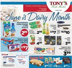 Grocery & Drug deals in the Tony's Finer Food catalog ( 13 days left)