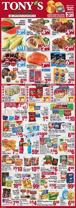 Grocery & Drug deals in the Tony's Finer Food catalog ( Expires tomorrow)