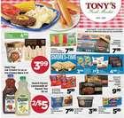 Tony's Finer Food catalogue ( Expires tomorrow )