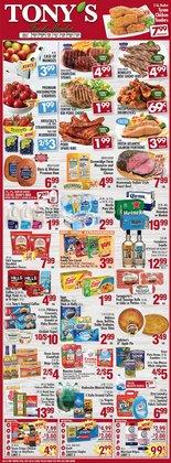 Tony's Finer Food catalog ( Expires tomorrow)