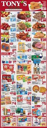 Tony's Finer Food catalog ( 3 days left)