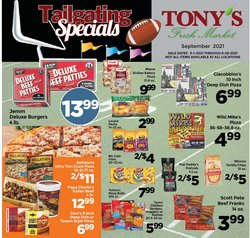 Grocery & Drug deals in the Tony's Fresh Market catalog ( 4 days left)