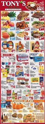 Tony's Fresh Market catalog ( 3 days left)