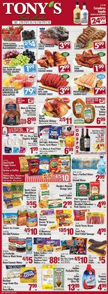Grocery & Drug deals in the Tony's Fresh Market catalog ( Expires today)