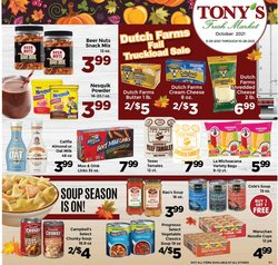 Tony's Fresh Market catalog ( 6 days left)