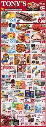 Grocery & Drug deals in the Tony's Fresh Market catalog ( 2 days left)