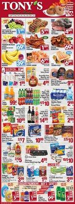 Grocery & Drug deals in the Tony's Fresh Market catalog ( Expires tomorrow)