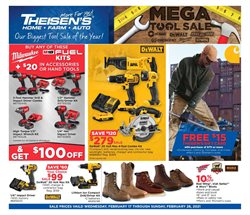 Theisen's catalogue ( Expired )