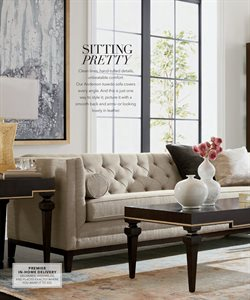 Sofa deals in the Ethan Allen weekly ad in New York