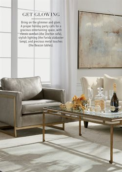 Table deals in the Ethan Allen weekly ad in New York