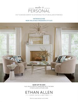 Home & Furniture deals in the Ethan Allen weekly ad in Erie PA