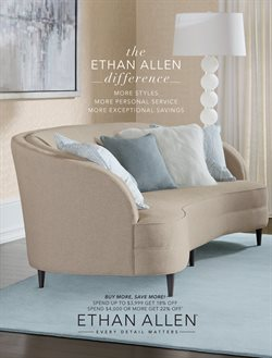 Ethan Allen deals in the New York weekly ad