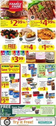 Water deals in the Family Fare weekly ad in Muskegon MI