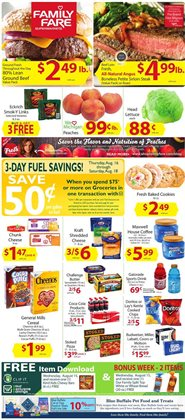 Grocery & Drug deals in the Family Fare weekly ad in Grand Rapids MI