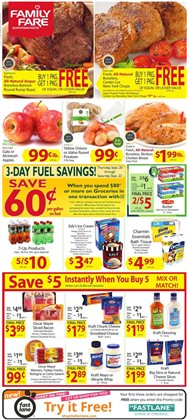 Family Fare deals in the Fargo ND weekly ad