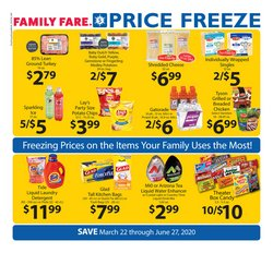 Family Fare catalogue ( More than a month )