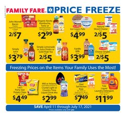 Family Fare deals in the Family Fare catalog ( More than a month)