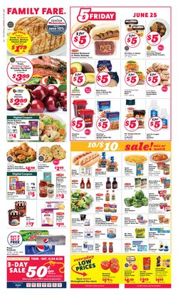Grocery & Drug deals in the Family Fare catalog ( 3 days left)