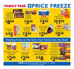Family Fare catalog ( More than a month)
