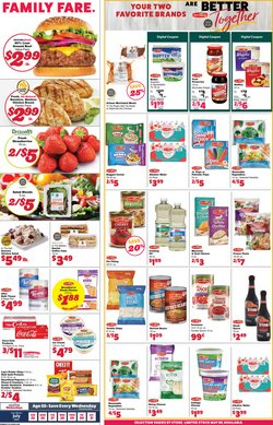 Grocery & Drug deals in the Family Fare catalog ( 2 days left)