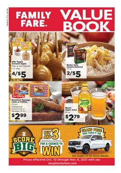 Grocery & Drug deals in the Family Fare catalog ( 18 days left)