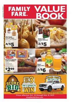 Grocery & Drug deals in the Family Fare catalog ( 16 days left)