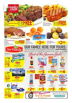 Family Fare deals in the Grand Rapids MI weekly ad