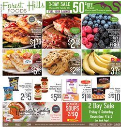 Forest Hills Food catalogue ( 3 days left )