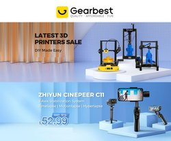 Electronics & Office Supplies deals in the GearBest catalog ( 6 days left)
