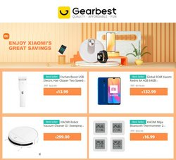 Electronics & Office Supplies deals in the GearBest catalog ( 3 days left)