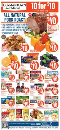 Grocery & Drug offers in the Germantown Fresh Market catalogue in Middletown OH ( 1 day ago )