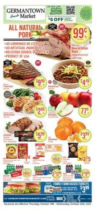 Germantown Fresh Market deals in the Germantown Fresh Market catalog ( 1 day ago)