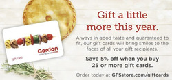Gordon Food Services deals in the Indianapolis IN weekly ad