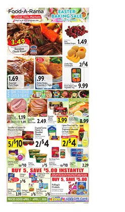 Grocery & Drug offers in the Great Valu Markets catalogue in Bethlehem PA ( 2 days left )