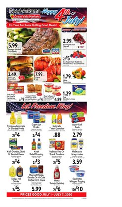 Great Valu Markets catalogue ( 1 day ago )