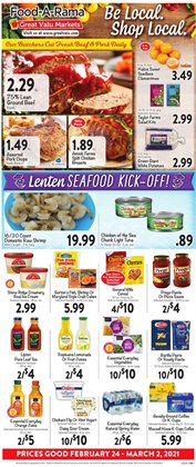 Great Valu Markets catalogue ( 3 days left )