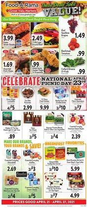 Great Valu Markets catalogue ( 1 day ago )