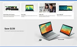 Laptop deals in the Microsoft weekly ad in Roswell GA