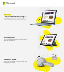 Electronics & Office Supplies deals in the Microsoft catalog ( 3 days left)