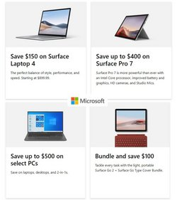 Microsoft deals in the Microsoft catalog ( 3 days left)