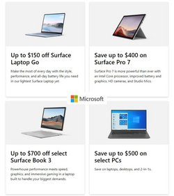 Electronics & Office Supplies deals in the Microsoft catalog ( Published today)