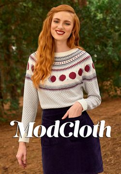 Clothing & Apparel offers in the ModCloth catalogue in Panorama City CA ( 15 days left )