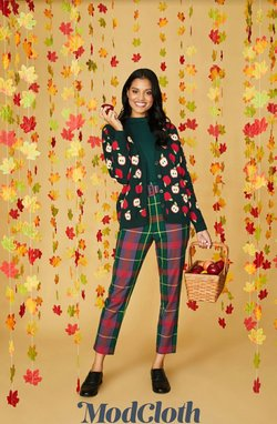 Clothing & Apparel deals in the ModCloth catalog ( Published today)
