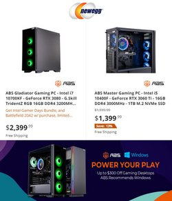 Electronics & Office Supplies deals in the Newegg catalog ( Expires tomorrow)