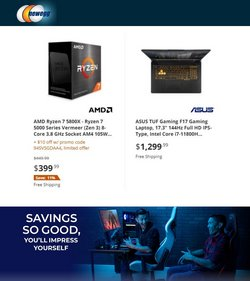 Electronics & Office Supplies deals in the Newegg catalog ( 10 days left)