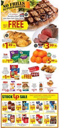 No Frills Supermarkets deals in the Omaha NE weekly ad