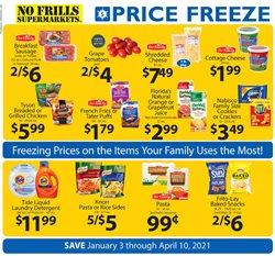 No Frills Supermarkets catalogue ( More than a month )
