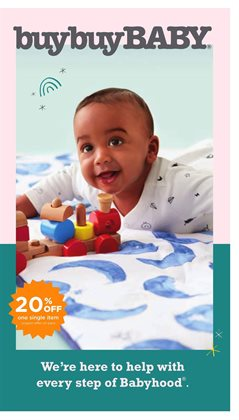 Kids, Toys & Babies offers in the buybuy BABY catalogue in Fresno CA ( More than a month )